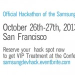Samsung and WIP Ask, Are You Ready to Hack?