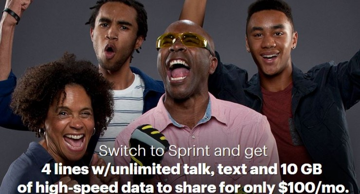 Sprint Introduces Best Plan for Families - Get quadruple the data for just $20 more per month