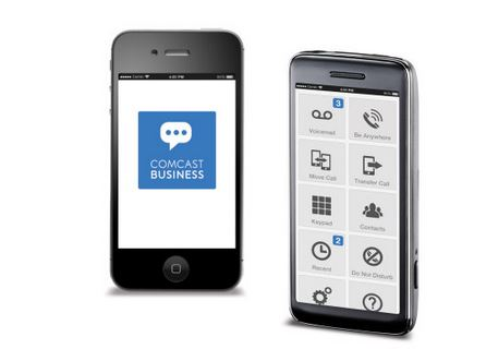 Comcast Business Makes Desk Phones Mobile for Small Business Owners and Employees