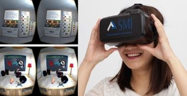 SMI Virtual Reality Eye Tracking at Dell World 2015