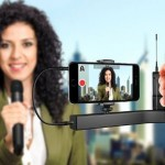 IK Multimedia premiers iKlip A/V – the first smartphone broadcast mount for professional mobile audio and video