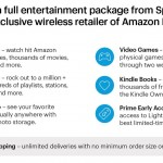 Sprint Teams with Amazon to Offer a Monthly Option for Sprint Customers to Enjoy Amazon Prime