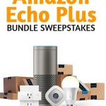 Enter to Win Amazon Echo Smart Home Bundle Sweepstakes