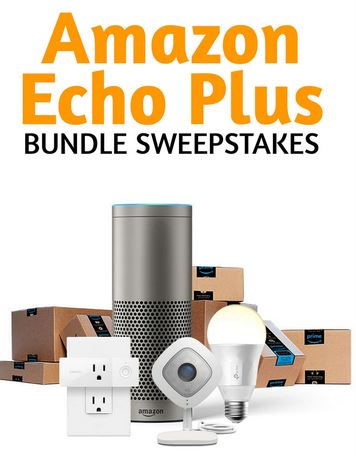 amazon echo smart home bundle sweepstakes. Black Bedroom Furniture Sets. Home Design Ideas