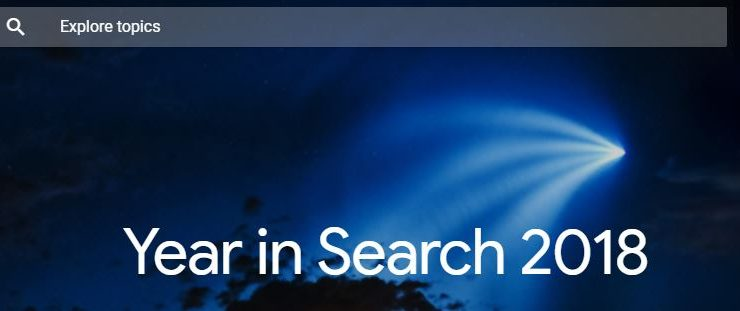 The Year in Search – Top Google Search Trends from 2018