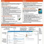 Microsoft Office 365 - Free Cheat Sheet