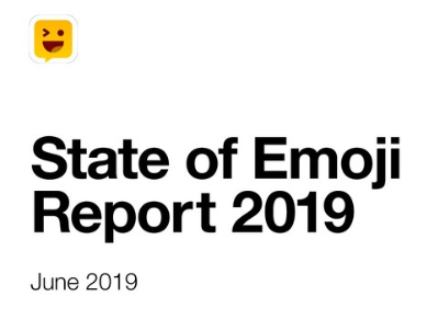 state of emoji report