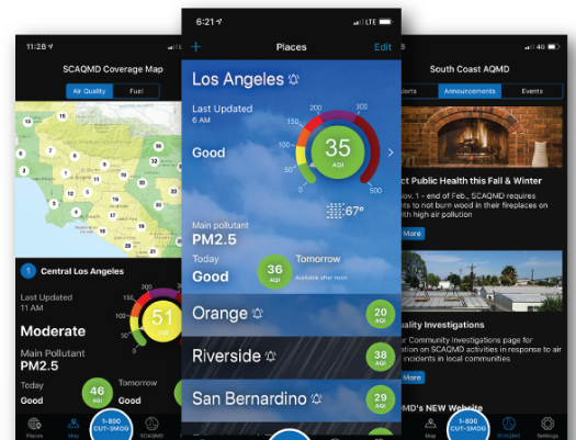 Award-Winning Air Quality Mobile App Launches on Android and iOS
