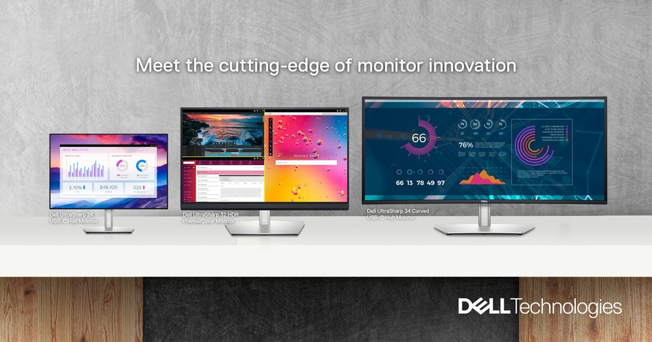 New Dell UltraSharp Monitors